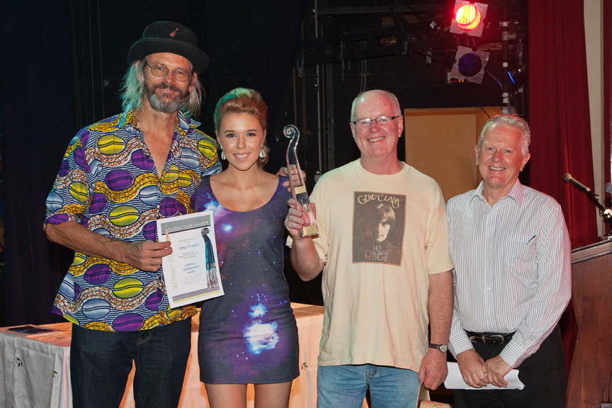 Golden Fiddle Awards, Tamworth Town Hall, 24.10.13